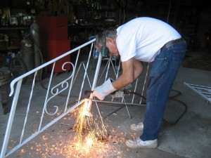 Nothing cuts through steel like an Oxy-Acetylene torch